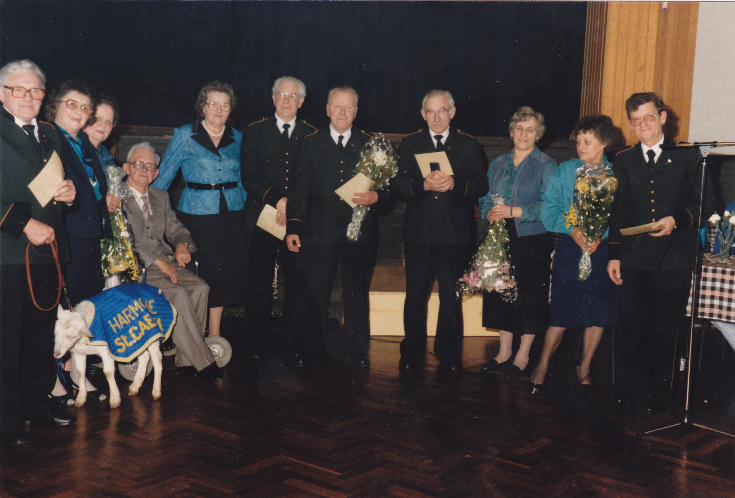 40 jarig jubileum november 1986